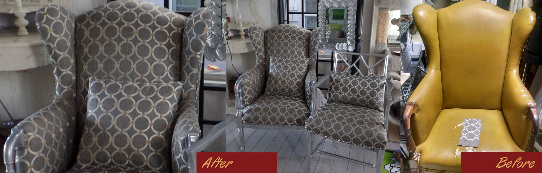 Upholstery Service | Chairs | Couches | Fabric | Leather | Denver | Arvada