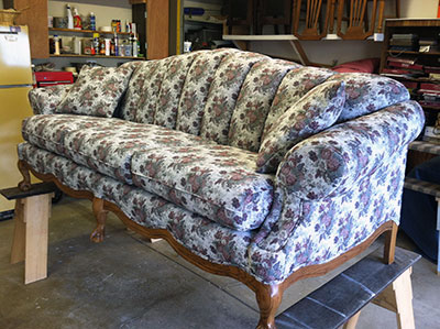 Sofa Upholstery Service After Photo