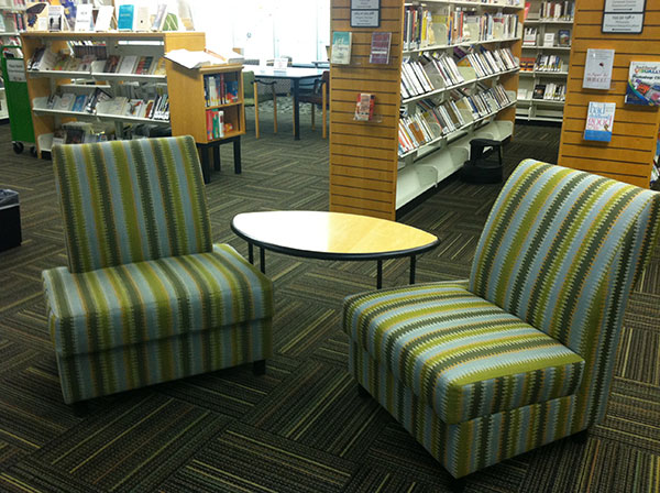 Library Upholstered Chairs
